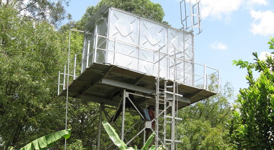 Agricultural Elevated Rectangular Water Tank